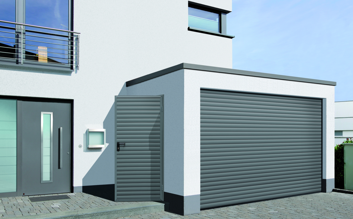 Porte De Garage Enroulable Afc Automatisations Fermetures Concept Caen Portes Fen Tres