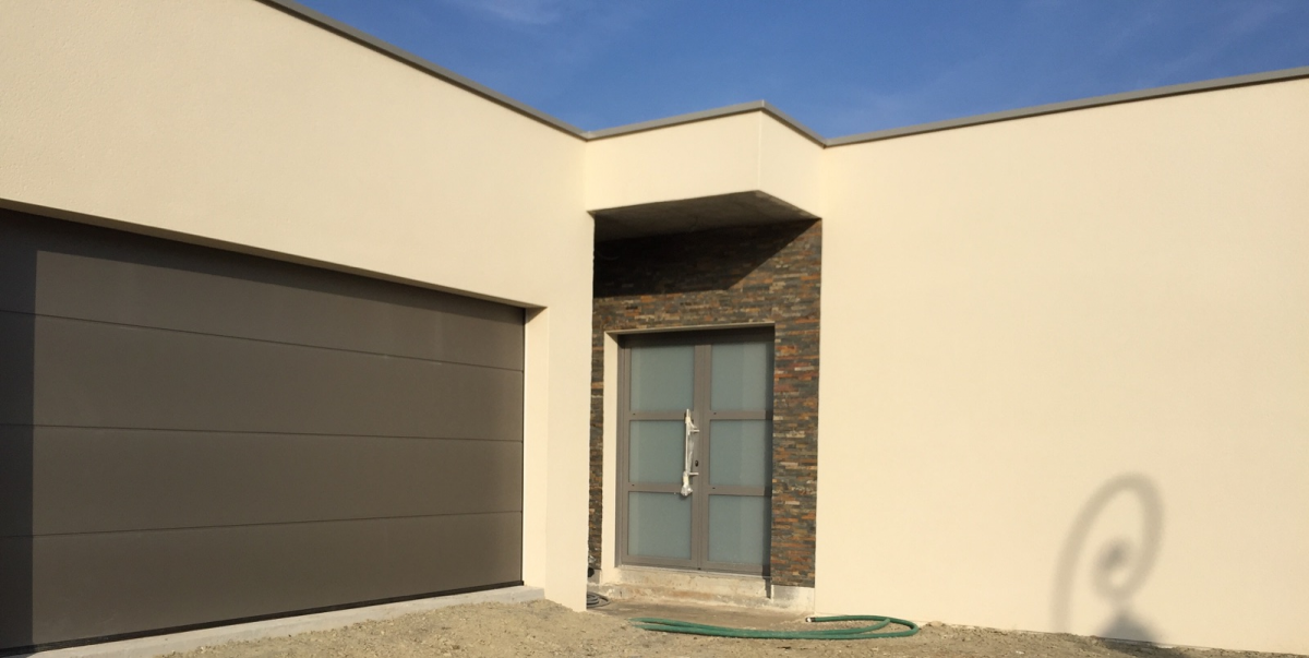 Porte de garage et porte d 39 entr e afc automatisations fermetures concept caen portes - Porte de garage et porte d entree ...